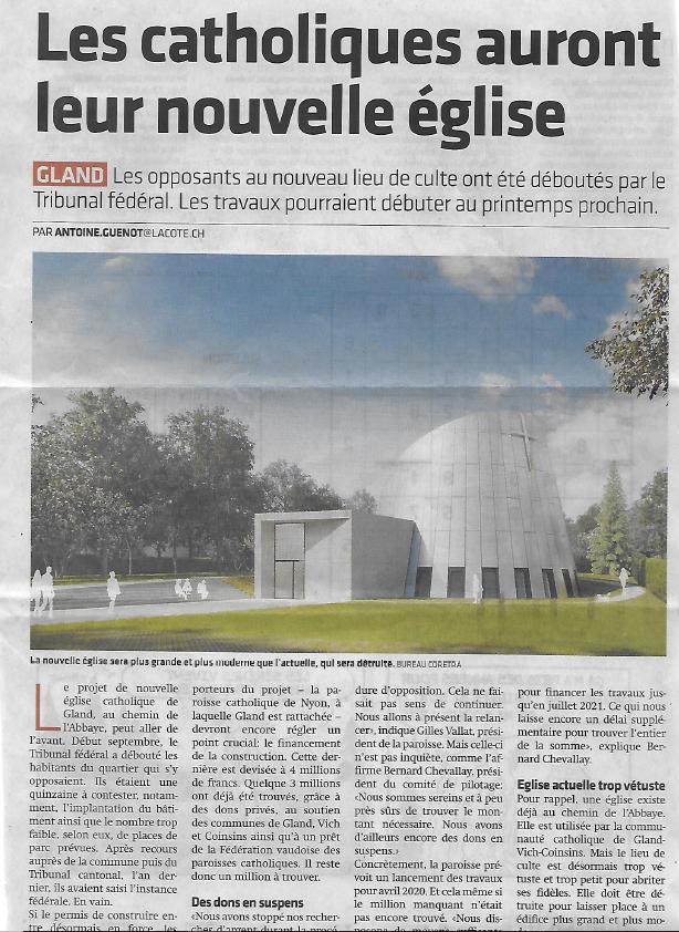 Article La Côte